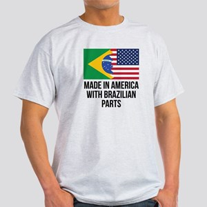 Made In America With Brazilian Parts T-Shirt