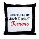 Protected by JRTerrors! Throw Pillow