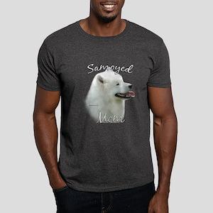 Samoyed Mom2 Dark T-Shirt