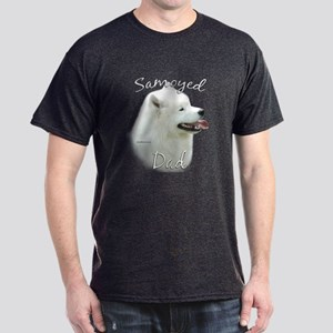 Samoyed Dad2 Dark T-Shirt