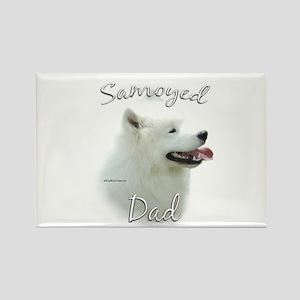 Samoyed Dad2 Rectangle Magnet