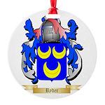 Ryder Round Ornament