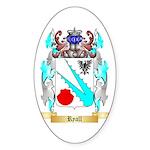 Ryall Sticker (Oval 50 pk)