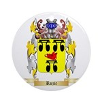 Ruzic Round Ornament