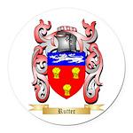 Rutter Round Car Magnet