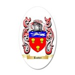 Rutter 20x12 Oval Wall Decal