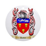 Rutter Round Ornament
