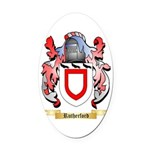 Rutherford Oval Car Magnet
