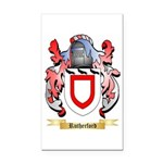 Rutherford Rectangle Car Magnet