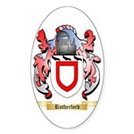Rutherford Sticker (Oval 50 pk)