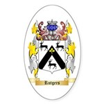 Rutgers Sticker (Oval 10 pk)
