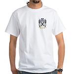 Rust White T-Shirt