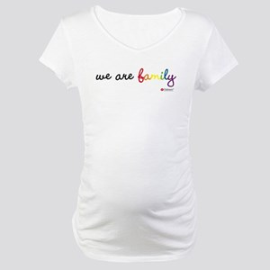 """We Are Family"" Maternity T-Shirt"