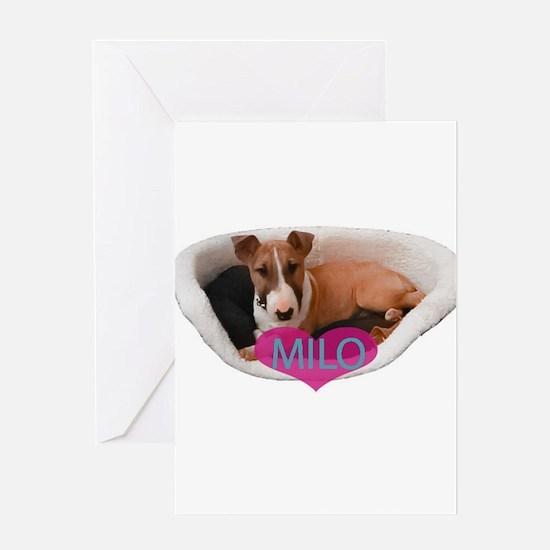 Unique Milo Greeting Card