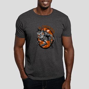 Chupacabra with Background 2 Dark T-Shirt