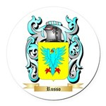 Russo Round Car Magnet