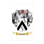 Russell 2 Sticker (Rectangle 50 pk)