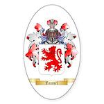 Russel Sticker (Oval 50 pk)