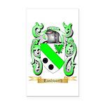 Rushworth Rectangle Car Magnet