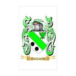 Rushworth Sticker (Rectangle 10 pk)