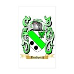 Rushworth Sticker (Rectangle 50 pk)