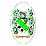 Rushworth Sticker (Oval 50 pk)