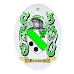 Rushworth Oval Ornament