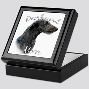 Deerhound Mom2 Keepsake Box