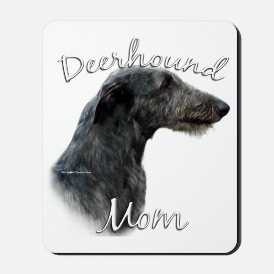 Deerhound Mom2 Mousepad