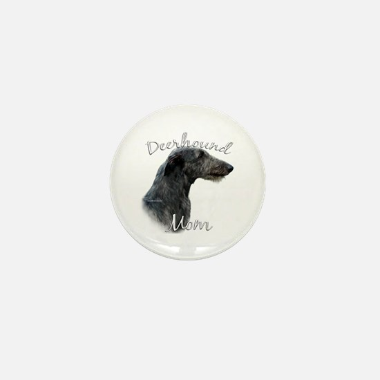 Deerhound Mom2 Mini Button