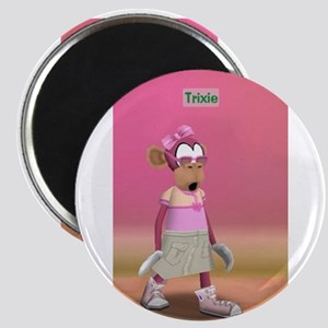 Trixie on Toontown Magnets