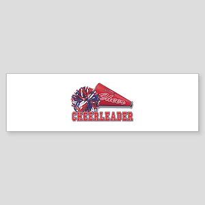 Cheerleader Cone Bumper Sticker