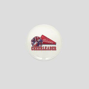Cheerleader Cone Mini Button