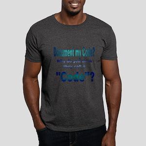 Document my Code? Dark T-Shirt