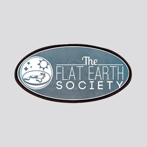 Flat Earth Society Logo Patch
