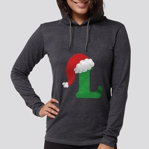 L santa hat Long Sleeve T-Shirt