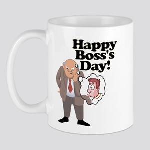 Office Ass Kisser Boss Day Mug