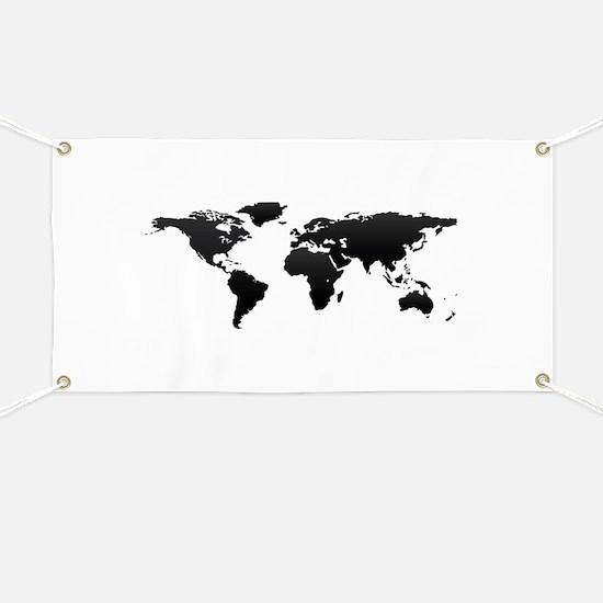 World map Banner
