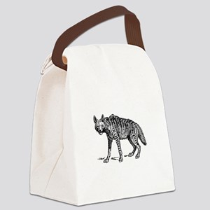 Hyena Canvas Lunch Bag