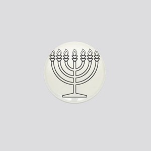 Menorah Mini Button