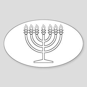 Menorah Sticker