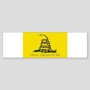 Gadsden Flag - Don't tread on me Bumper Sticker