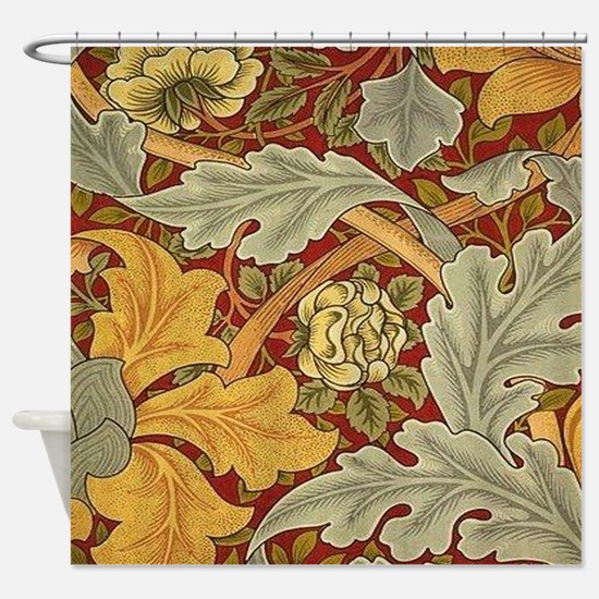 Saint James wallpaper by William Morris Shower Cur