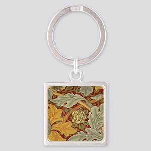 Saint James wallpaper by William Morris Keychains