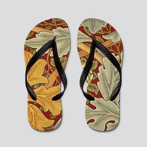 Saint James wallpaper by William Morris Flip Flops