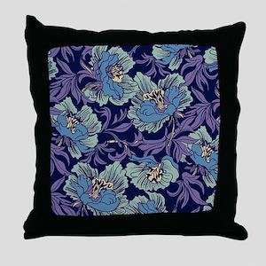 William Morris Textile Throw Pillow