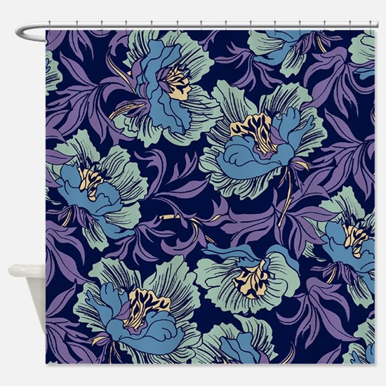 William Morris Textile Shower Curtain