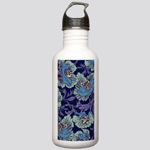 William Morris Textile Water Bottle