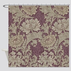 Chrysanthemum William Morris Shower Curtain