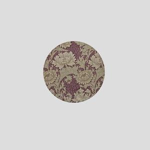 Chrysanthemum William Morris Mini Button